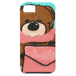 Capa Tough Para iPhone 5 Urso do Sweety