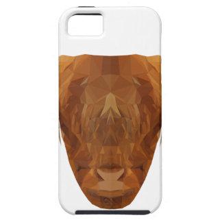 Capa Tough Para iPhone 5 Vaca escocesa do animal de Scotland do gado das