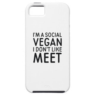 Capa Tough Para iPhone 5 Vegan social