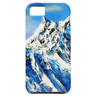 Capa Tough Para iPhone 5 Vista panorâmica do pico de montanha de Everest