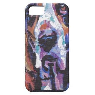 Capa Tough Para iPhone 5 Você é meu coração de Basset Hound