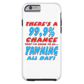 Capa Tough Para iPhone 6 99,9% BOCEJAR O DIA INTEIRO (preto)