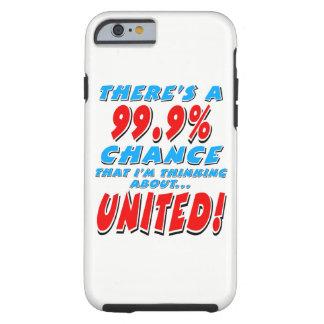Capa Tough Para iPhone 6 99,9% UNIDO (preto)
