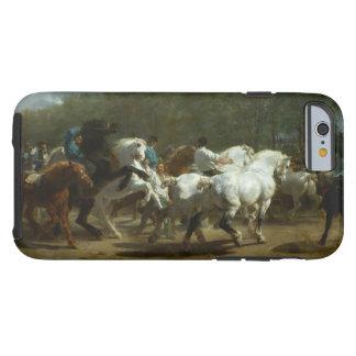 Capa Tough Para iPhone 6 A feira de cavalo pelo iPhone de Rosa Bonheur,