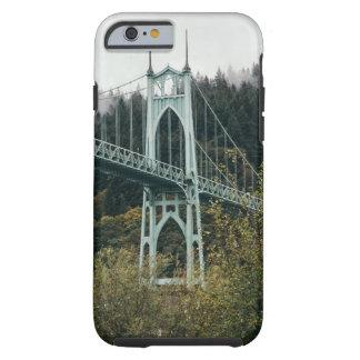 Capa Tough Para iPhone 6 A ponte de St John em Portland