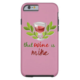 Capa Tough Para iPhone 6 Acção de graças Sassy