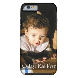 Capa Tough Para iPhone 6 Adicione o PIC de sua criança adorável aqui: