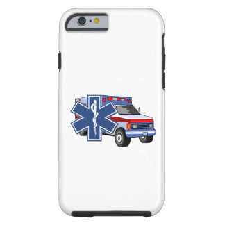 Capa Tough Para iPhone 6 Ambulância do EMS