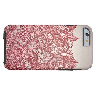 Capa Tough Para iPhone 6 Amor do Henna