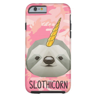 Capa Tough Para iPhone 6 Amor engraçado do animal de Meme do unicórnio de