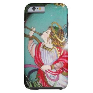 Capa Tough Para iPhone 6 Anjo do Natal - arte do Natal - decorações do anjo
