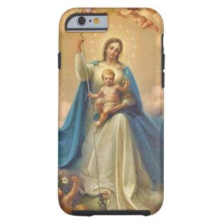 Capa Tough Para iPhone 6 Anjos de Jesus do bebê de Mary da mãe do Virgin