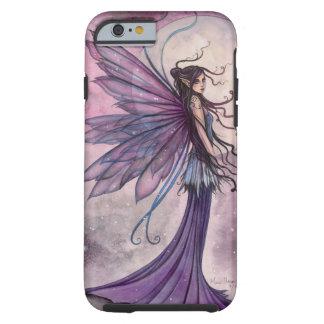 Capa Tough Para iPhone 6 Arte Mystical feericamente Amethyst Starlit da