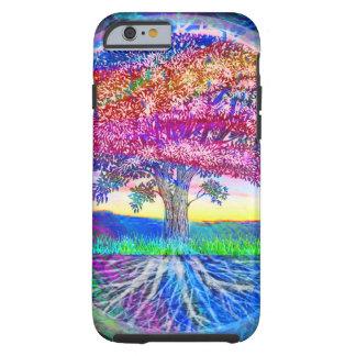 Capa Tough Para iPhone 6 Árvore de bênçãos da vida