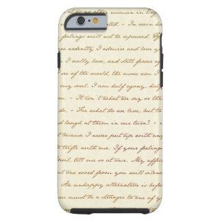 Capa Tough Para iPhone 6 As citações do melhor de Jane Austen