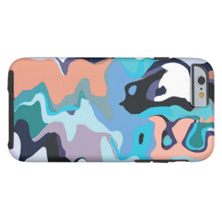 Capa Tough Para iPhone 6 Azuis da lava