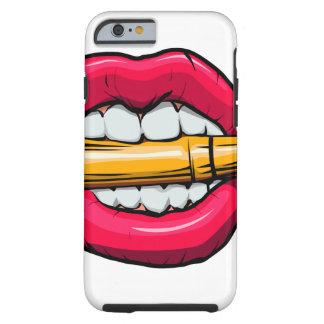 Capa Tough Para iPhone 6 bala na boca