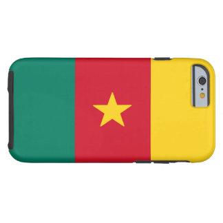 Capa Tough Para iPhone 6 Bandeira de República dos Camarões