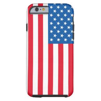 Capa Tough Para iPhone 6 Bandeira dos Estados Unidos da bandeira dos EUA