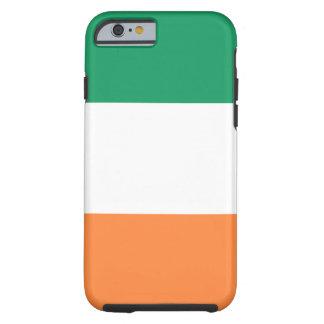 Capa Tough Para iPhone 6 Bandeira nacional do mundo de Ireland