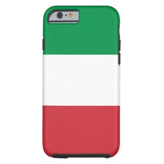 Capa Tough Para iPhone 6 Bandeira nacional do mundo de Italia