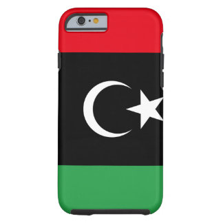 Capa Tough Para iPhone 6 Bandeira nacional do mundo de Líbia