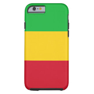 Capa Tough Para iPhone 6 Bandeira nacional do mundo de Mali