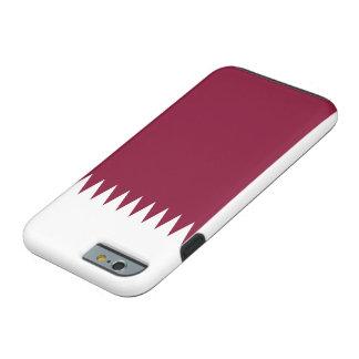 Capa Tough Para iPhone 6 Bandeira nacional do mundo de Qatar