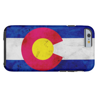 Capa Tough Para iPhone 6 Bandeira patriótica do estado de Colorado do