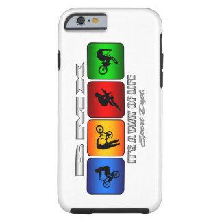 Capa Tough Para iPhone 6 BMX legal é um modo de vida