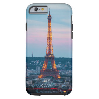 Capa Tough Para iPhone 6 caixa da torre Eiffel do iPhone (4,5,6,7,8)