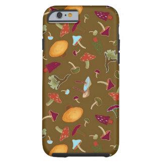 Capa Tough Para iPhone 6 Caixa selvagem dos cogumelos iPhone6