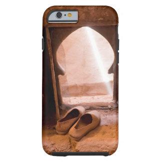 Capa Tough Para iPhone 6 Calçados marroquinos na janela