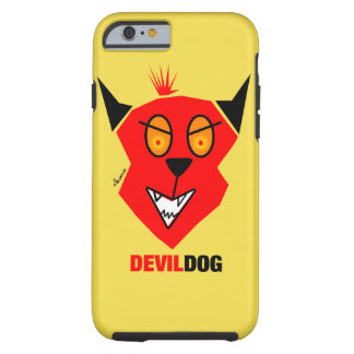 Capa Tough Para iPhone 6 Cão de diabo - cobrir do iPhone 6