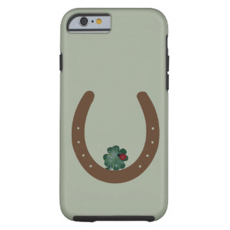 "Capa Tough Para iPhone 6 Caso ""afortunado"" de iPhone/iPad"