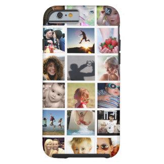 Capa Tough Para iPhone 6 Caso do iPhone 6 da colagem da foto do cliente