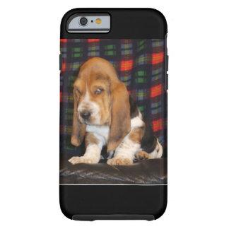 Capa Tough Para iPhone 6 Caso do telemóvel de Basset Hound