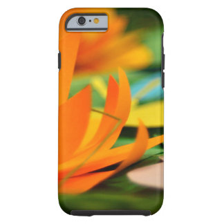 Capa Tough Para iPhone 6 Caso floral do iphone 6/6s