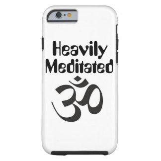 "Capa Tough Para iPhone 6 Caso ""pesadamente Meditated"" do iPhone 6/6s"