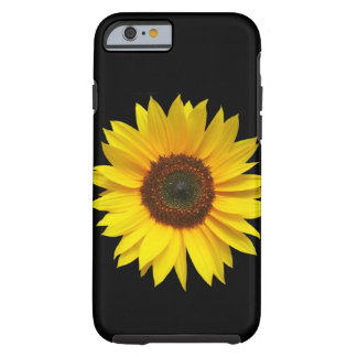 Capa Tough Para iPhone 6 Caso resistente do iPhone 6/6S do girassol