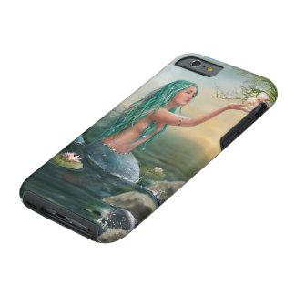 Capa Tough Para iPhone 6 Caso resistente do iPhone 6 da sereia marinha