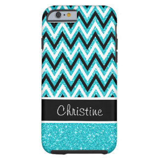 Capa Tough Para iPhone 6 Caso resistente do iPhone 6 de Chevron do preto do