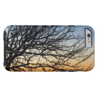 Capa Tough Para iPhone 6 Céu do inclinação no inverno