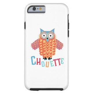 Capa Tough Para iPhone 6 Chalaça muito legal do francês da coruja