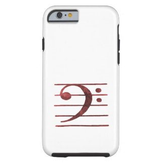 Capa Tough Para iPhone 6 Clef baixo