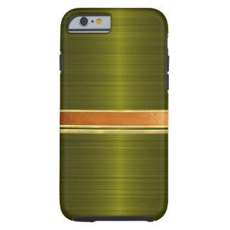 Capa Tough Para iPhone 6 Cobre e caixa unida ouro do iPhone 6
