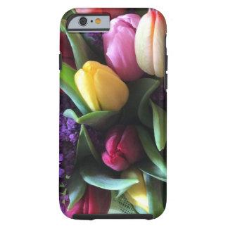 Capa Tough Para iPhone 6 Cobrir do iPhone 6s da tulipa