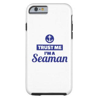 Capa Tough Para iPhone 6 Confie que eu mim é um marinheiro