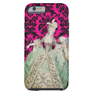 Capa Tough Para iPhone 6 COR da MUDANÇA de Marie Antoinette - iPhone6/6s