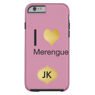 Capa Tough Para iPhone 6 Coração Playfully elegante Merengue de I